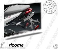 PT656B RIZOMA PORTATARGA IN ALLUMINIO TRIUMPH STREETTRIPLE /STREET TRIPLE R 13>