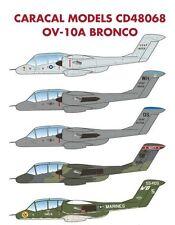 Caracal 1/48 North-American/Rockwell OV-10A Bronco # 48068