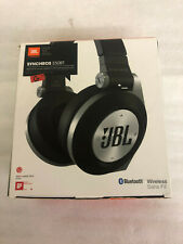 JBL E50BT ON-EAR WIRELESS BLUETOOTH HEADPHONES RECHARGEABLE REMOTE & MIC BLACK