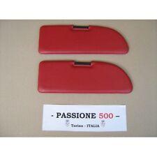 COPPIA PANTINE PARASOLE COLORE ROSSO FIAT 500