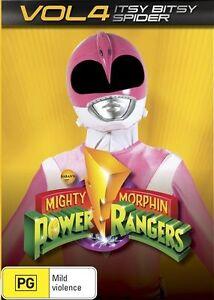 Mighty Morphin Power Rangers : Vol 4 : NEW DVD