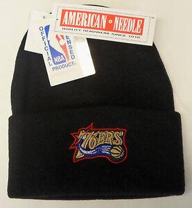 NBA Philadelphia 76ers American Needle Vintage Cuffed Winter Knit Hat Beanie Cap