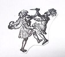 Historical Knights fighting rubber stamp medieval battles Renaissance men man