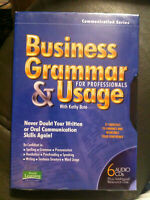 Sound Learning Solutions Business Grammar and Usage for Professionals 6 CDs NEW