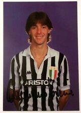 Cartoncino Hurrà Juventus - Damiano Farina Autografo Originale
