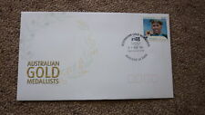 2004 AUSTRALIAN ATHENS OLYMPIC GOLD MEDAL FDC, ADELAIDE, GRANT HACKETT SWIMMING