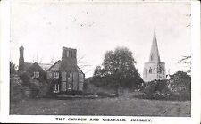 Hursley near Winchester. The Church & Vicarage.