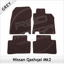 NISSAN QASHQAI Mk2 2014 onwards Tailored Fitted Carpet Car Floor Mats GREY