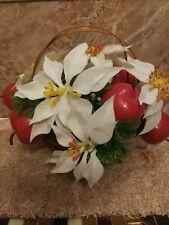 Vintage Christmas Flower Arrangement