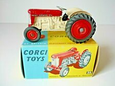 VINTAGE CORGI NO.50 MASSEY-FERGUSON 65 TRACTOR VG++ WITH ORIGINAL BOX