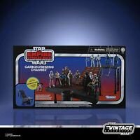 Star Wars Vintage Collection Carbon Freezing Chamber Action Figure Set NO STORMT