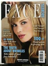 FACE SECRETS MAGAZINE 2017, Truth About Wrinkles Glowing Skin Beauty