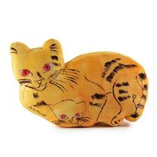 "Andy Warhol Yellow Sam the Cat 16"" Limited Edition Plush by Kidrobot (NEW)"