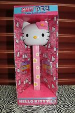 "12"" HELLO KITTY GIANT PEZ DISPENSER Sanrio Candy Roll Pink Girls Collectible NEW"