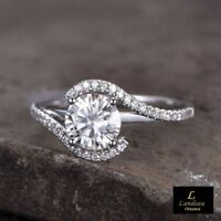 2.40 Ct White Diamond Engagement - Promise Ring