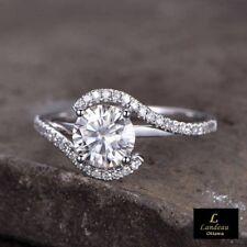 2.40 Ct White Diamond Engagement - Promise Ring *