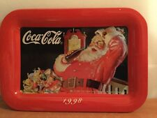 Coca Cola Tin Tray 1998 Change Coin Vintage Collectible