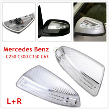 Pair Outside Mirror Turn Signal Light Fit For Mercedes Benz W204 W639 C250 C300