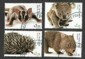 Australia-2019-Australia Fauna II-Wild Animals-fu/ct gummed-Koala-Echidna