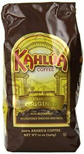 Kahlua Gourmet Ground Coffee Original 12 Ounce