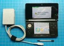 Nintendo 3ds console black w/ charger - Tested & Complete!
