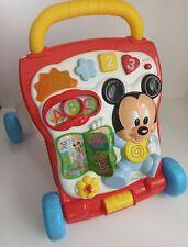 Disney Mickey Mouse Electronic Learning Baby Walker English & Spanish Languages