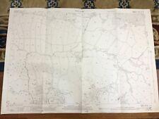 Antique Map Berkshire Yateley Green Coalpit Copse Hampshire 1943