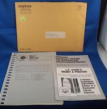 Vintage Nikon Nikkormat Amphoto Handbook of Photography Newsletter
