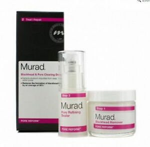 Murad Blackhead & Pore Clearing Duo Treatment, reduce blackheads and seal pores