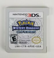 Pokemon Mystery Dungeon: Gates to Infinity (Nintendo 3DS) Authentic GAME ONLY