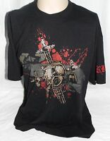 Randy Orton RKO Legend Killer Authentic WWE T Shirt 2xl XXL Gas Mask Dual Sided