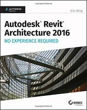 Autodesk Revit Architecture 2016 No Experience , Wing+=