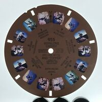 955 Hopalong cassidy & topper William Boyd Sawyers View master slide reel