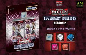 Konami - Yu-Gi-Oh - Legendary Duelists Season 2 - German 1. Edition - New