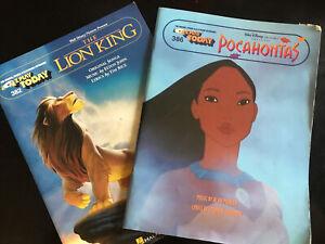 E-Z Play Today Disney The Lion King Keyboard Sheet Music Book SAME DAY DISPATCH