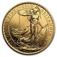 1987 Great Britain 1 oz Gold Britannia BU - SKU #85453