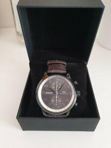 montre chrono style portuguese iwc  7750 voir annonce