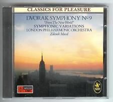 CD DVORAK SYMPHONY No.9 AUS DER NEUEN WELT London Philharmonic Zdenek Macal 1987
