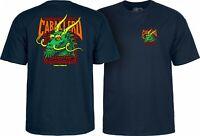 Powell Peralta Steve Caballero GREEN DRAGON AND BATS T Shirt NAVY XL