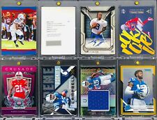 (33) CARD LOT INDIANAPOLIS COLTS AUTOGRAPHS, JERSEY PATCHES, BCCG GRADED, SP/10
