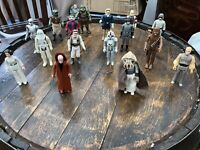 Kenner - 16 X Star Wars Action Figures -1977 Onwards - Vintage Job Lot