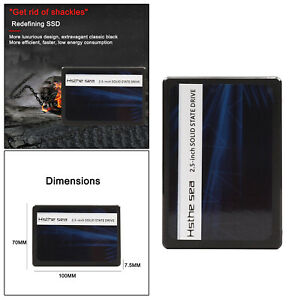 "SSD SATA III 2,5"" Zoll Solid State Drive High Speed Read & Write 60GB"