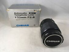 Vintage Chinar Automatic Telephoto Lens 135MM F2.8 with Original Box