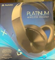 Sony 3001566 Over Ear Wireless Gaming Headset Headphones PlayStation 4 - Black