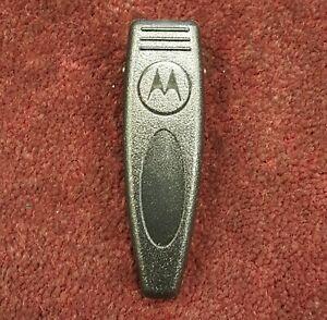 01-62478E01 Motorola LS550 Pager Black Belt-Clip * NEW * FREE SHIPPING