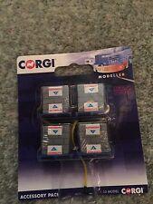 CC19703 CORGI 4 Mattone carichi & 2 cinghie elastiche 1:50 Diecast Truck Accessories
