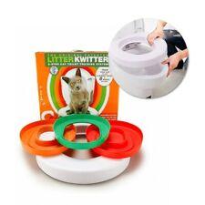 idYllife Cat training Toilet Seat Pet Plastic litter Box Tray Kit Professional