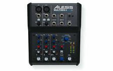 Alesis Multimix 4 USB FX 4-channel Studio Mixing Desk or Live Mixer Cubase Le