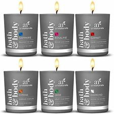 ArtNaturals Scented Candle Gift Set – 6pcs Aromatherapy Fragrance Essential Oi