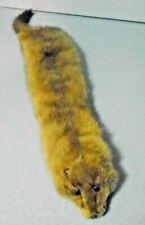 Vintage Autumn Haze Mink Fur Wrap Scarf Collar